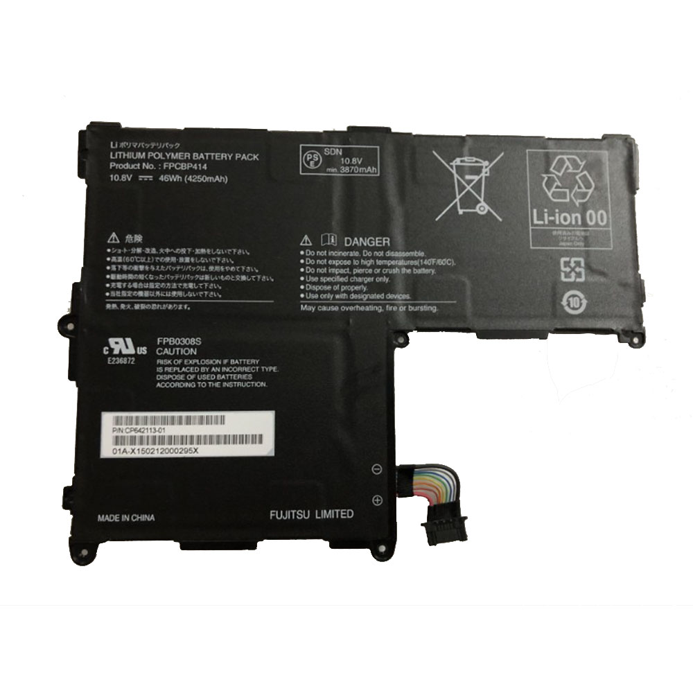 Replacement for Fujitsu FPCBP414 battery