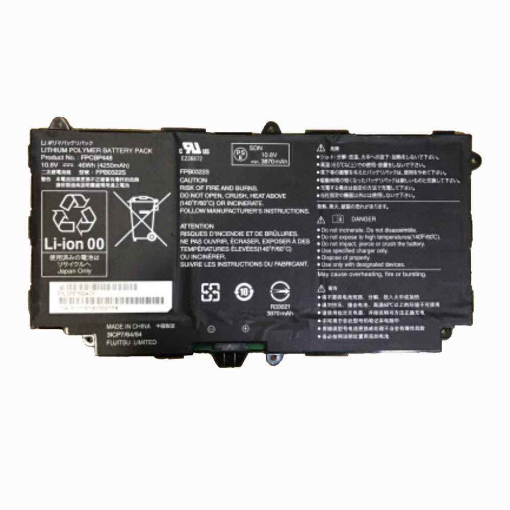 Replacement for Fujitsu FPCBP448 battery