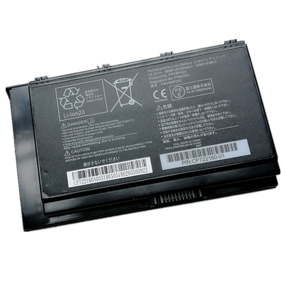Replacement for Fujitsu FPCBP524 battery