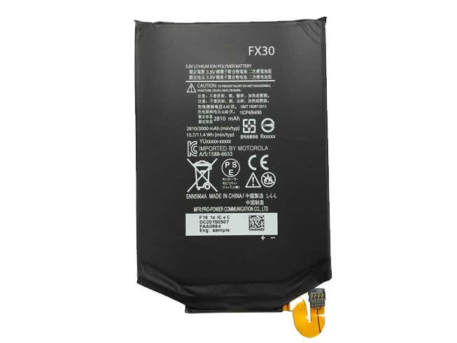 Replacement for Motorola FX30 battery