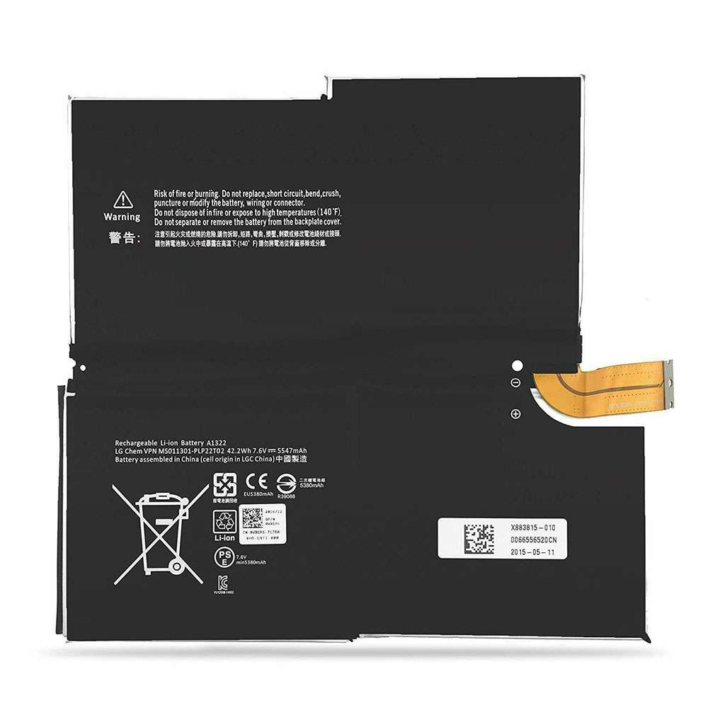 Microsoft G3HTA009H replacement battery