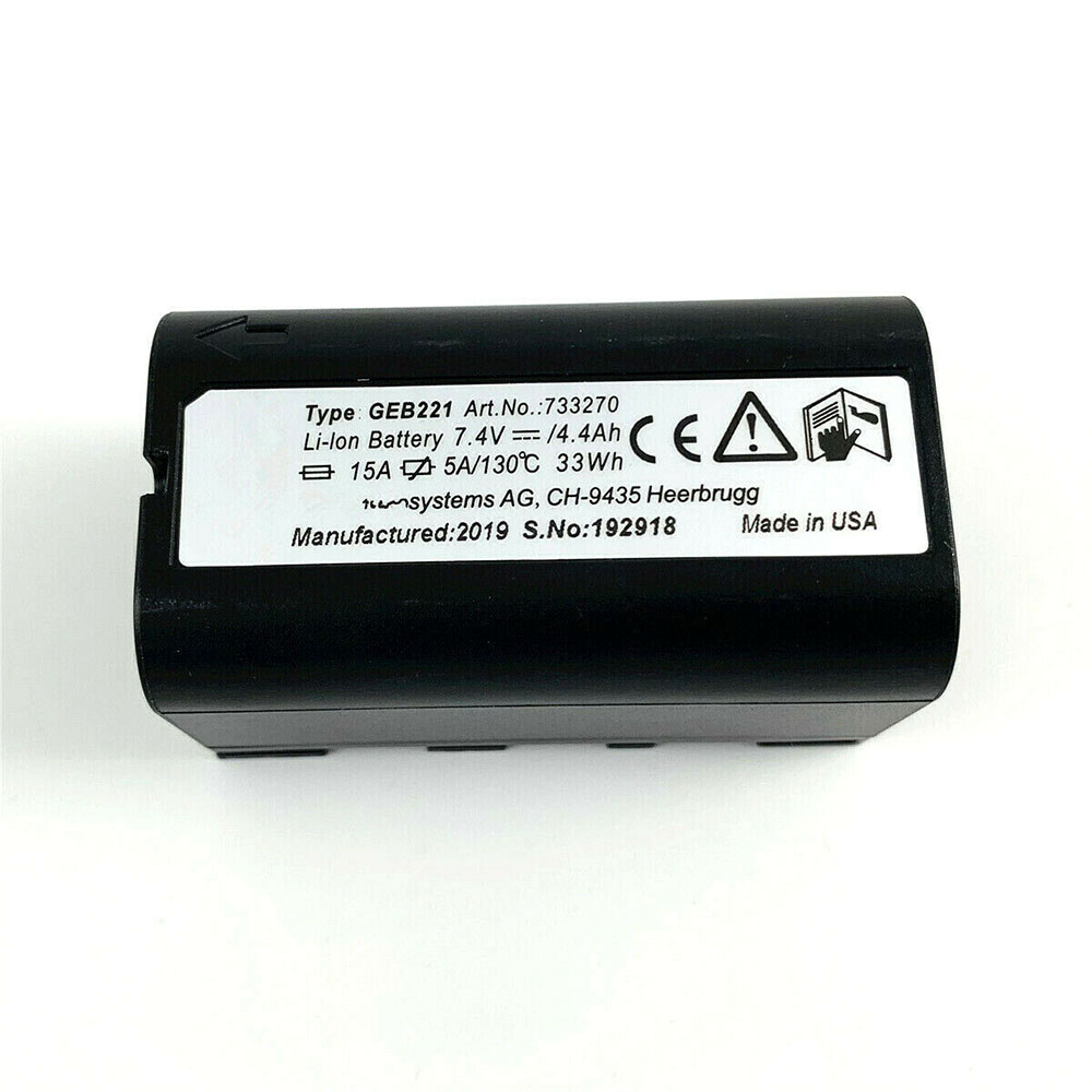 Leica GEB221 replacement battery