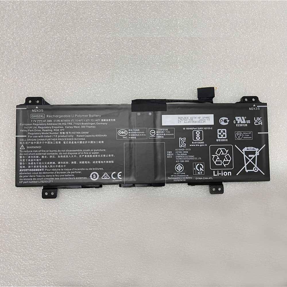 HP GH02XL Laptop Battery