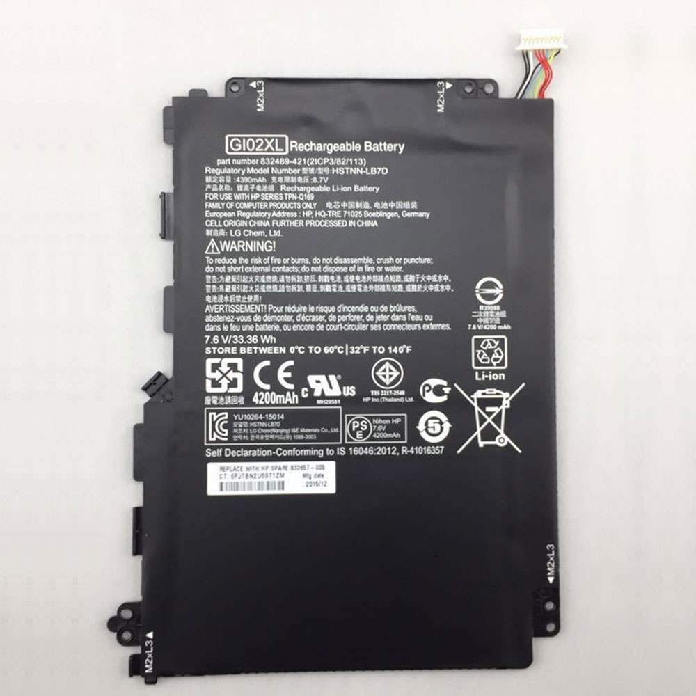 HP GI02XL battery