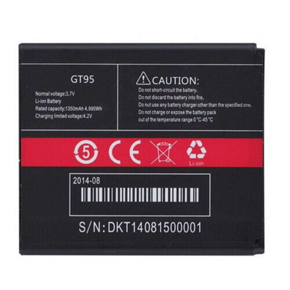 Replacement for Cubot GT95 battery
