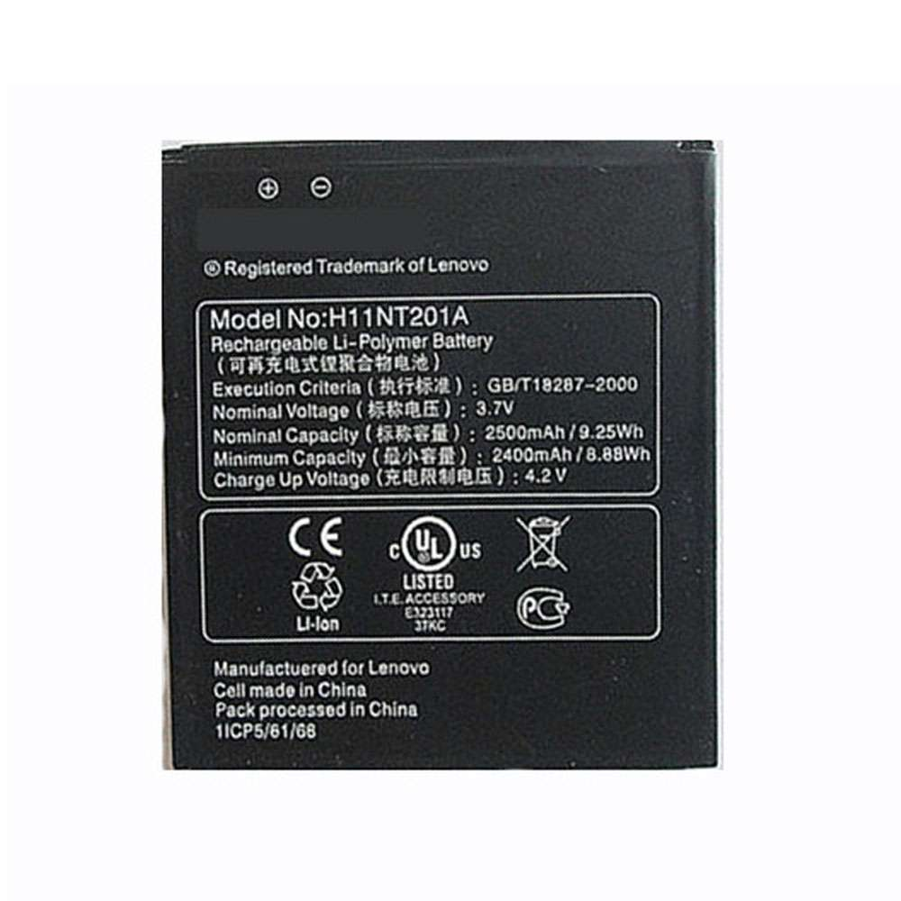 Replacement for Lenovo H11NT201A battery