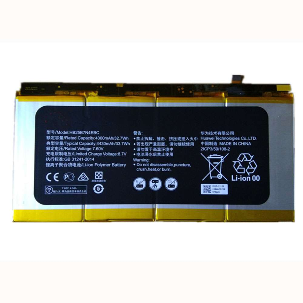 Replacement for Huawei HB25B7N4EBC battery