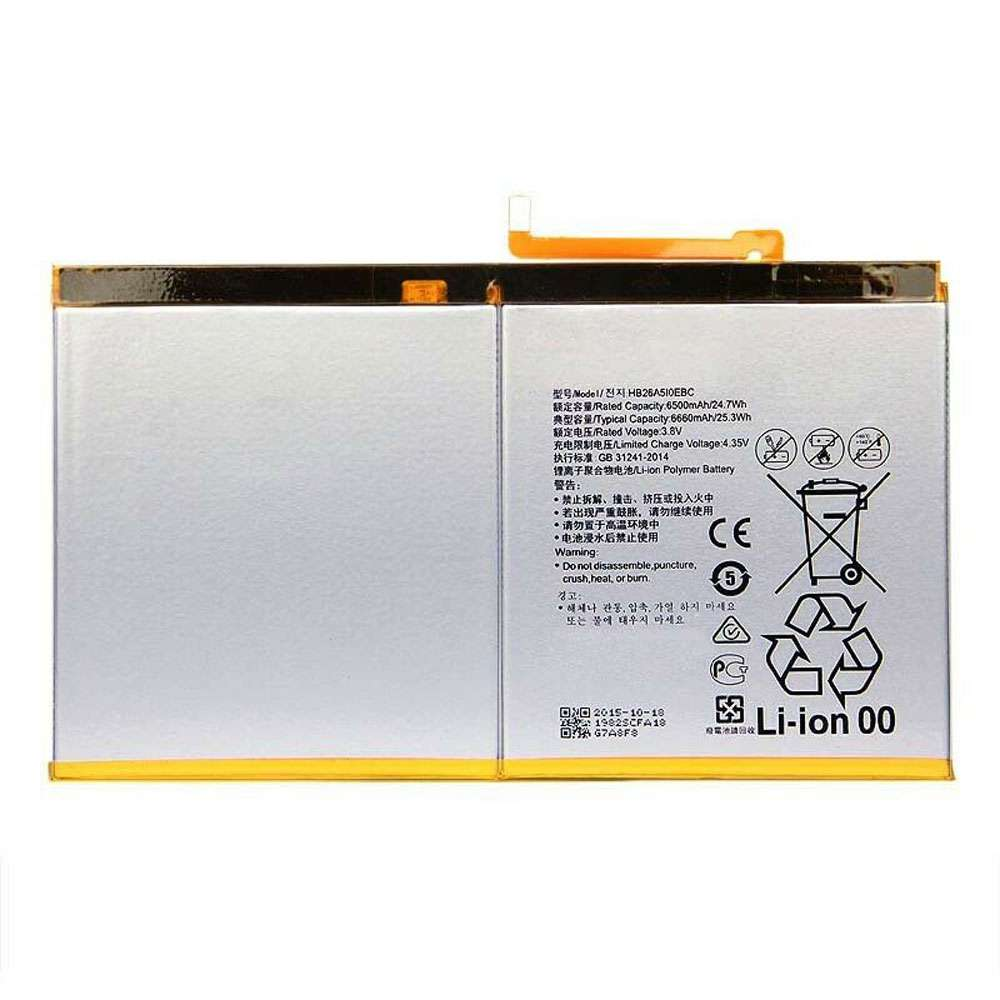 Replacement for HUAWEI HB26A510EBC battery