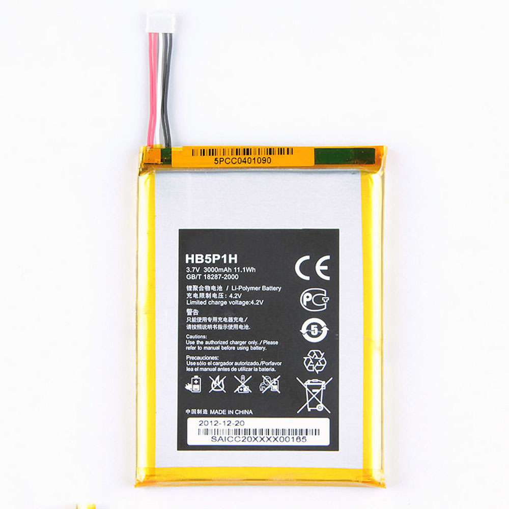 Replacement for Huawei HB5P1H battery