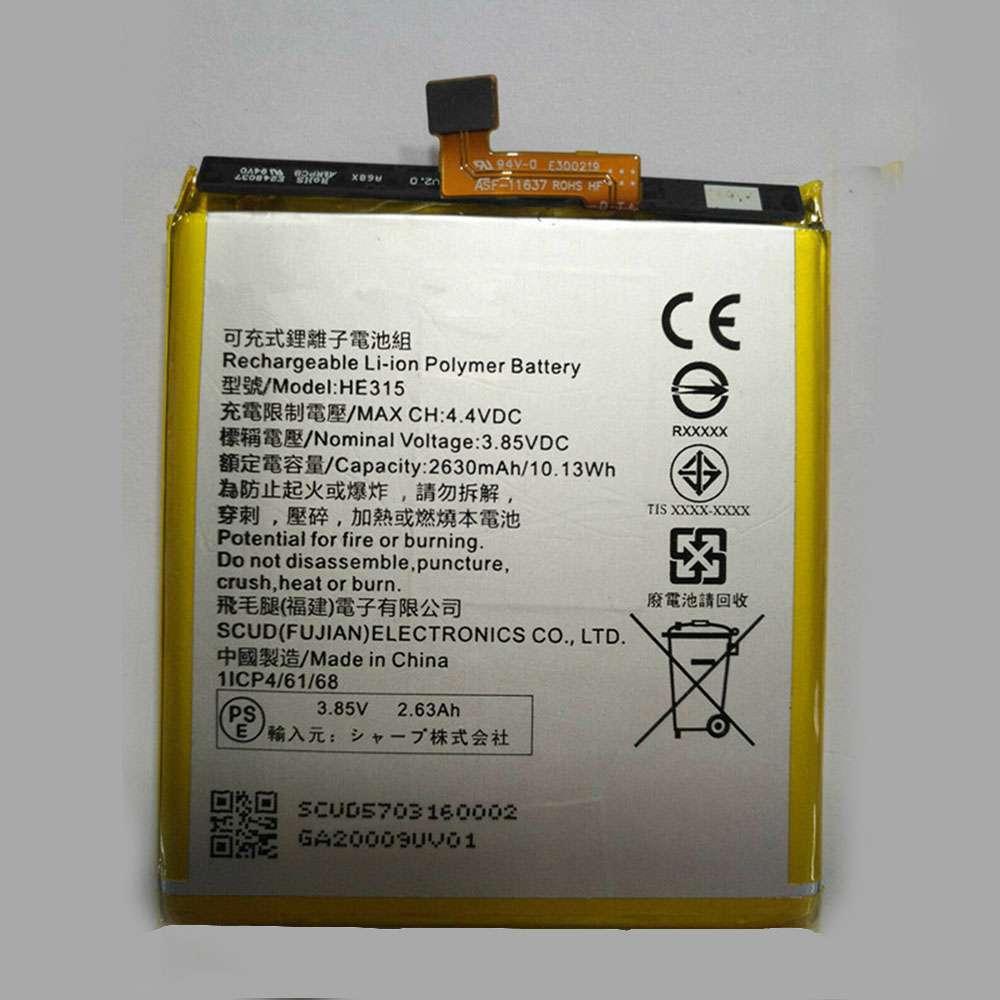 Sharp HE315 Smartphone Akku
