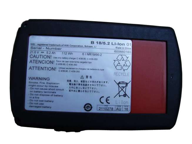 Hilti 2116092 battery Replacement