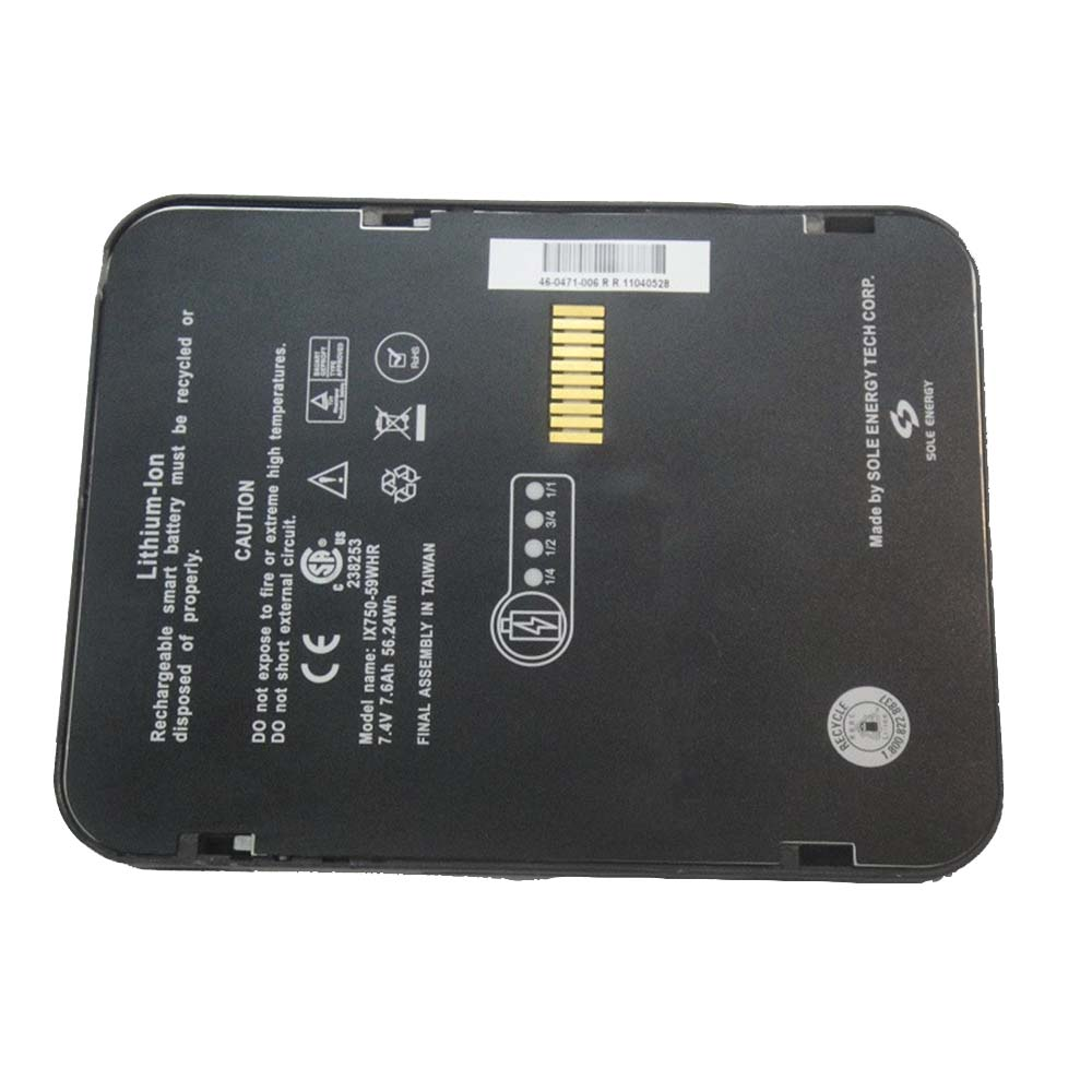 Itronix IX750-59WHR Laptop Akku