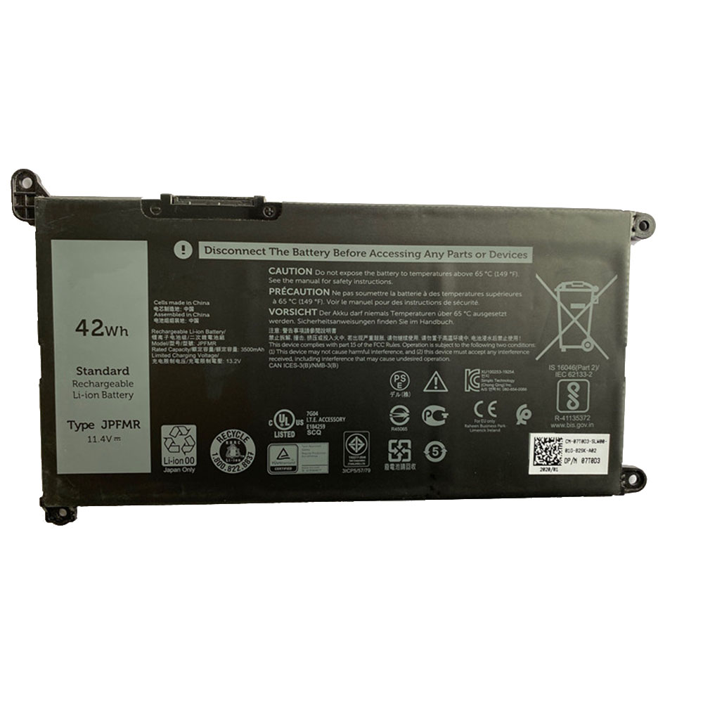 Dell JPFMR replacement battery