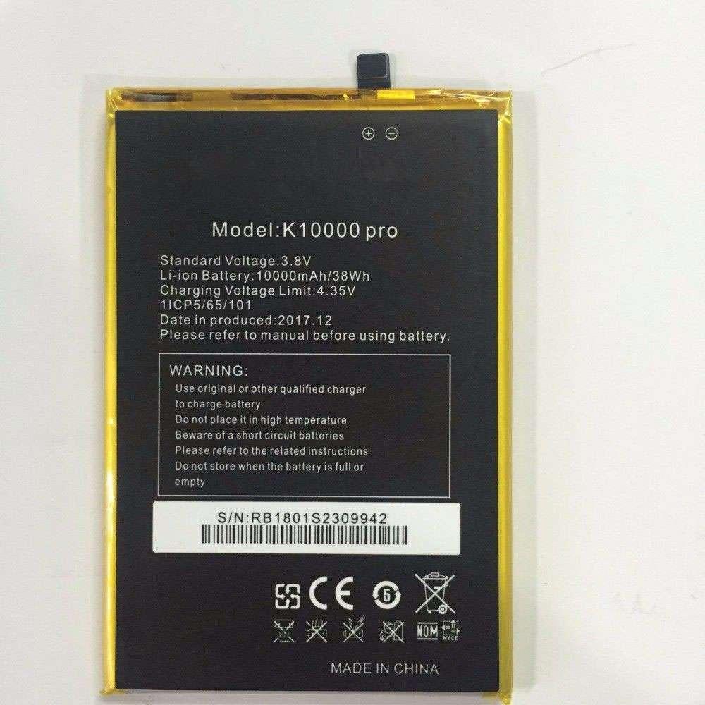Oukitel K10000 battery