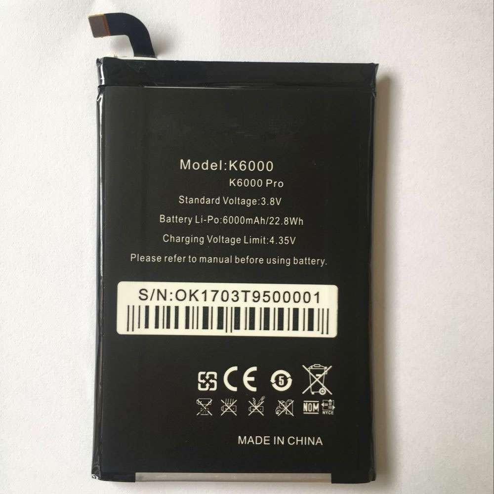 oukitel K6000 battery