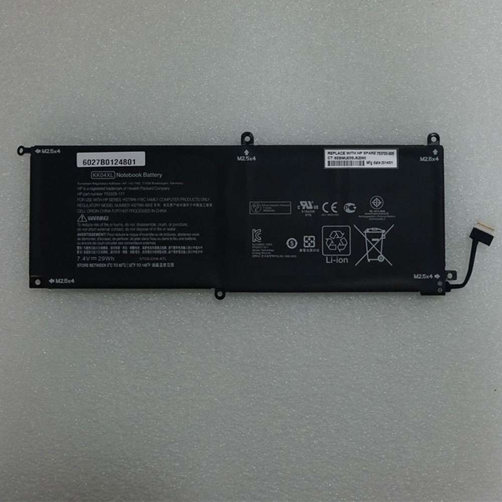 HP KK04XL battery