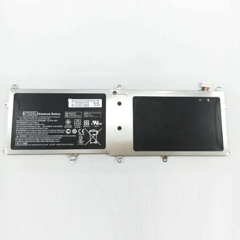 HP KT02XL battery
