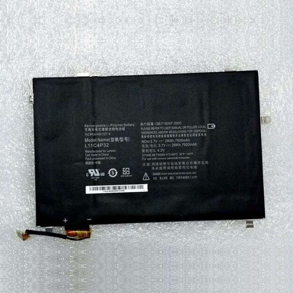 Replacement for Lenovo L11C4P32 battery