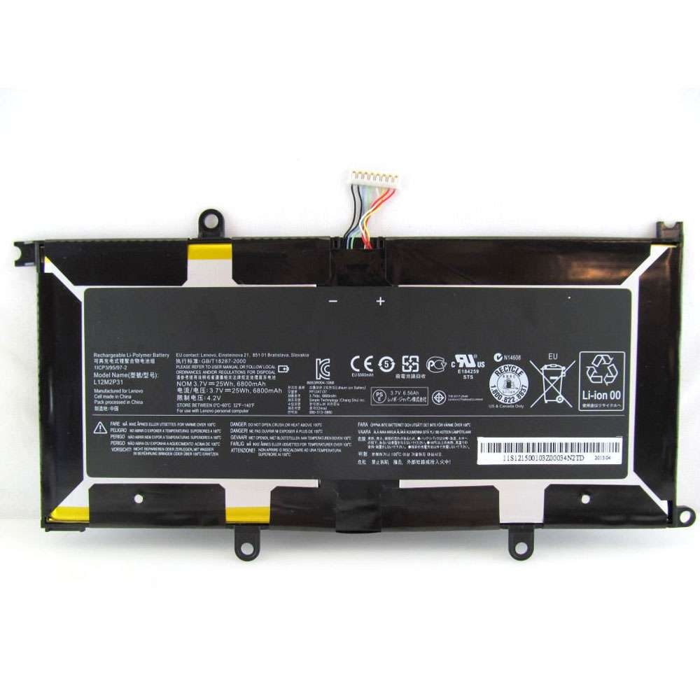 Replacement for Lenovo L12M2P31 battery