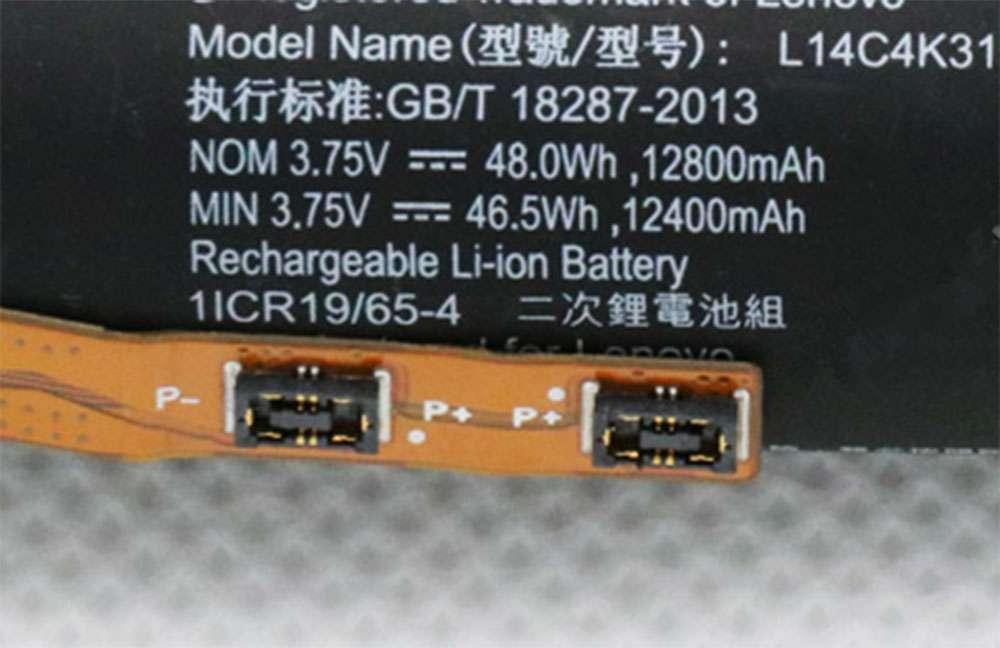Lenovo L14D4K31 Tablet Akku