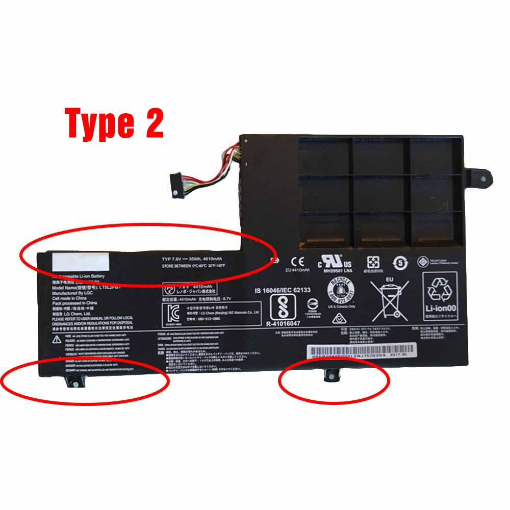 Lenovo Yoga 510 5B10K84491 Battery