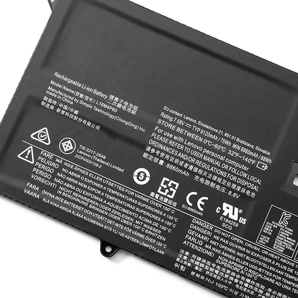 Lenovo L16M4P60 Laptop Akku