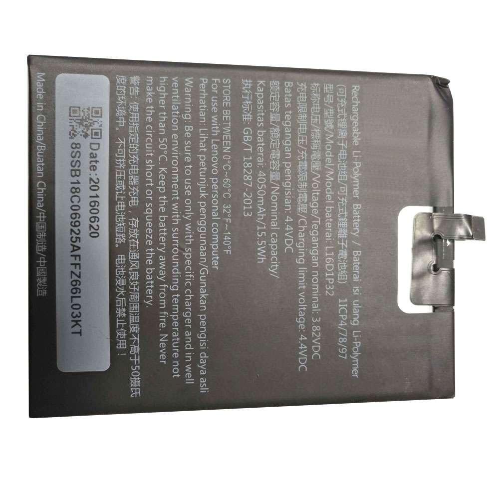 Lenovo L16D1P32 Smartphone Akku