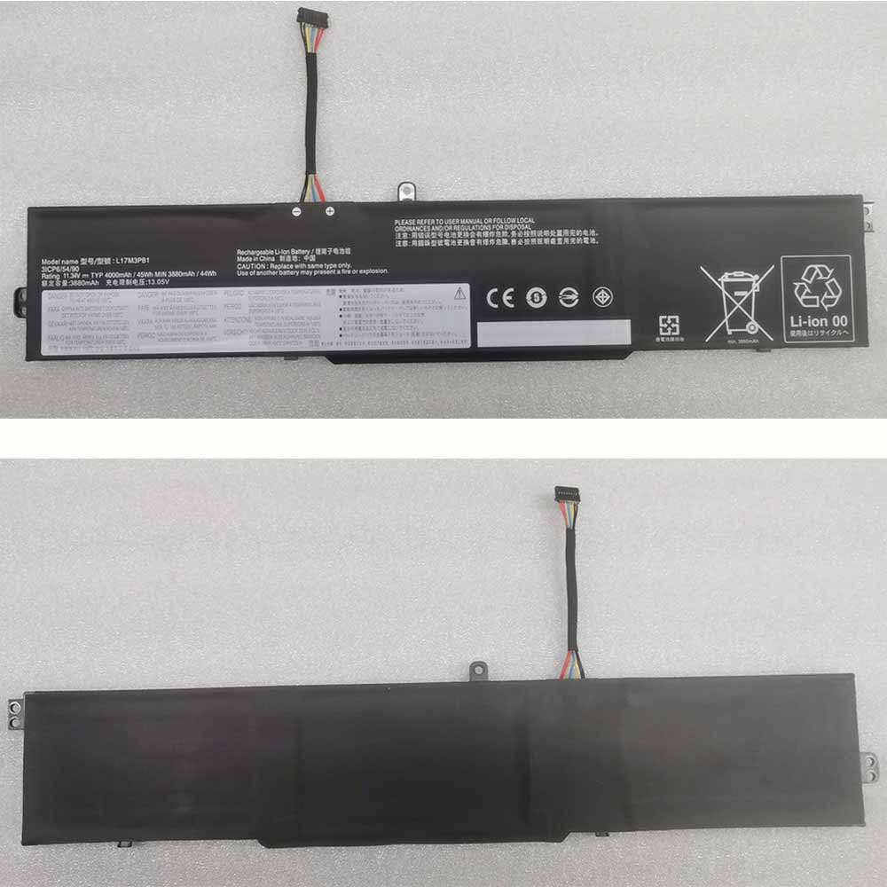 Lenovo L17M3PB1 replacement battery