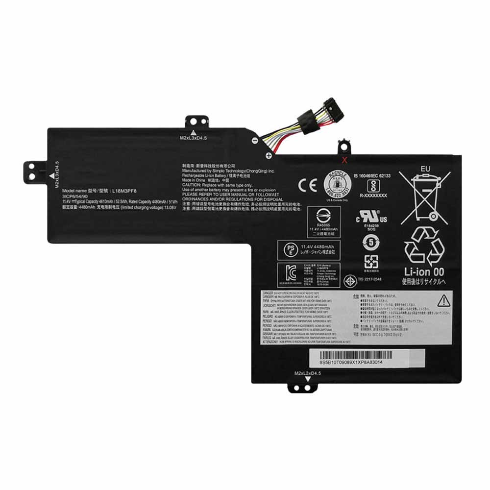 Lenovo L18M3PF8 replacement battery