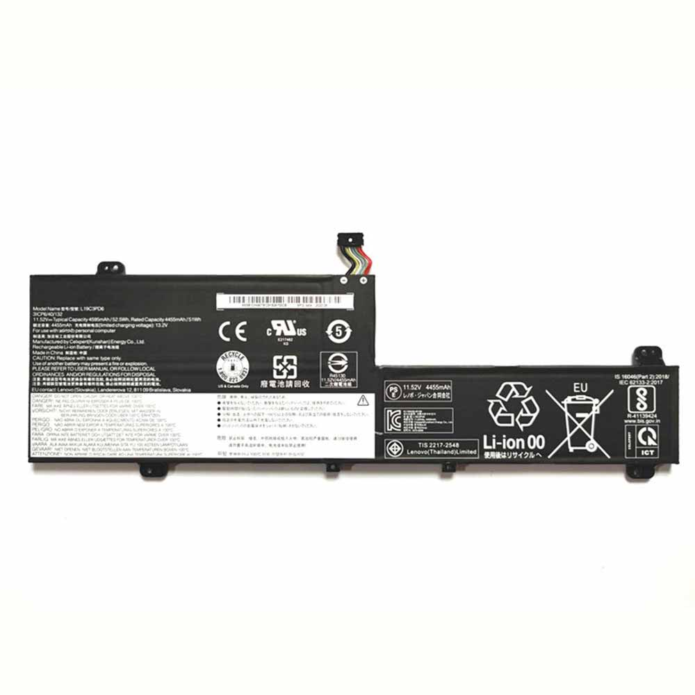 Lenovo L19C3PD6 replacement battery