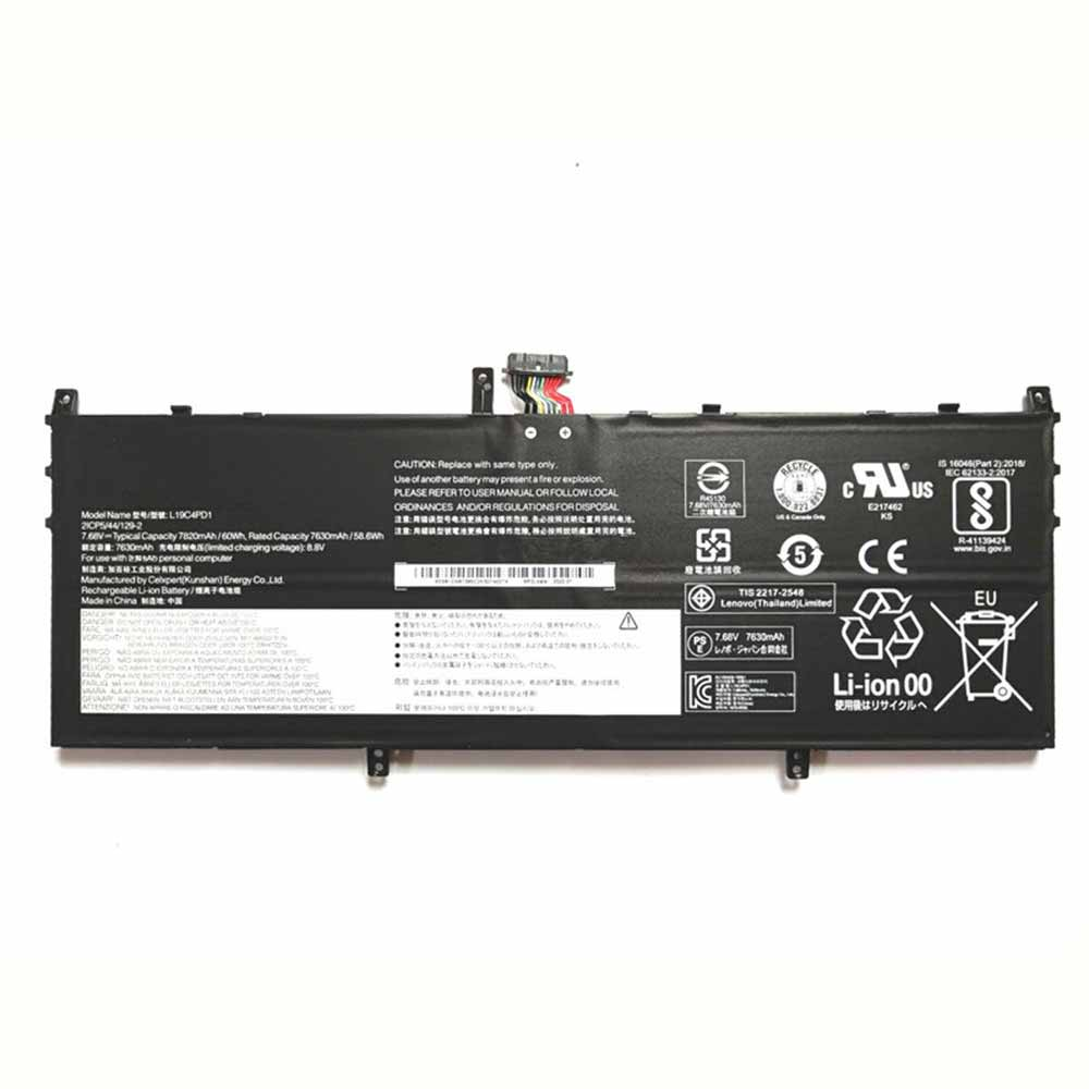 Lenovo L19D4PD1 replacement battery