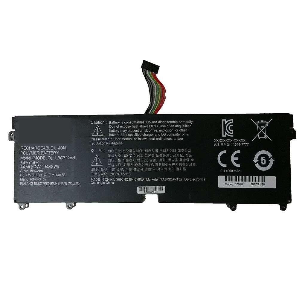 LG  LBG722VH replacement battery