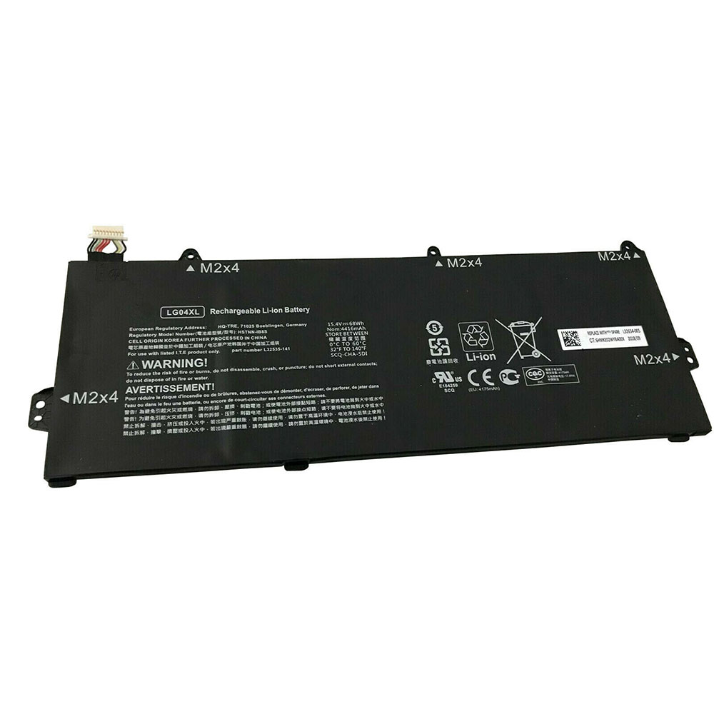 Replacement for HP LG04XL battery