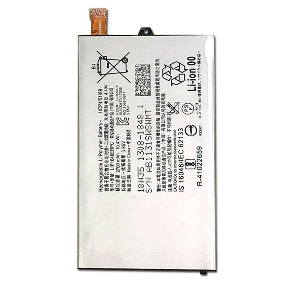 Sony LIP1648ERPC replacement battery