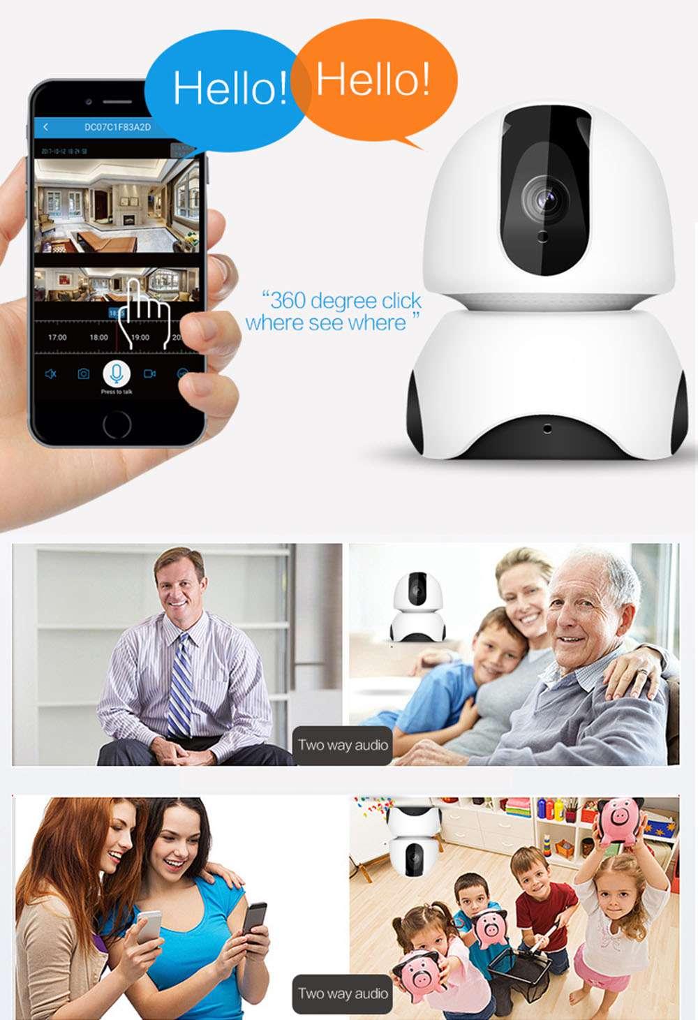 WiFi Camera 1080P Wireless IP Home Security Survei... Sonstige