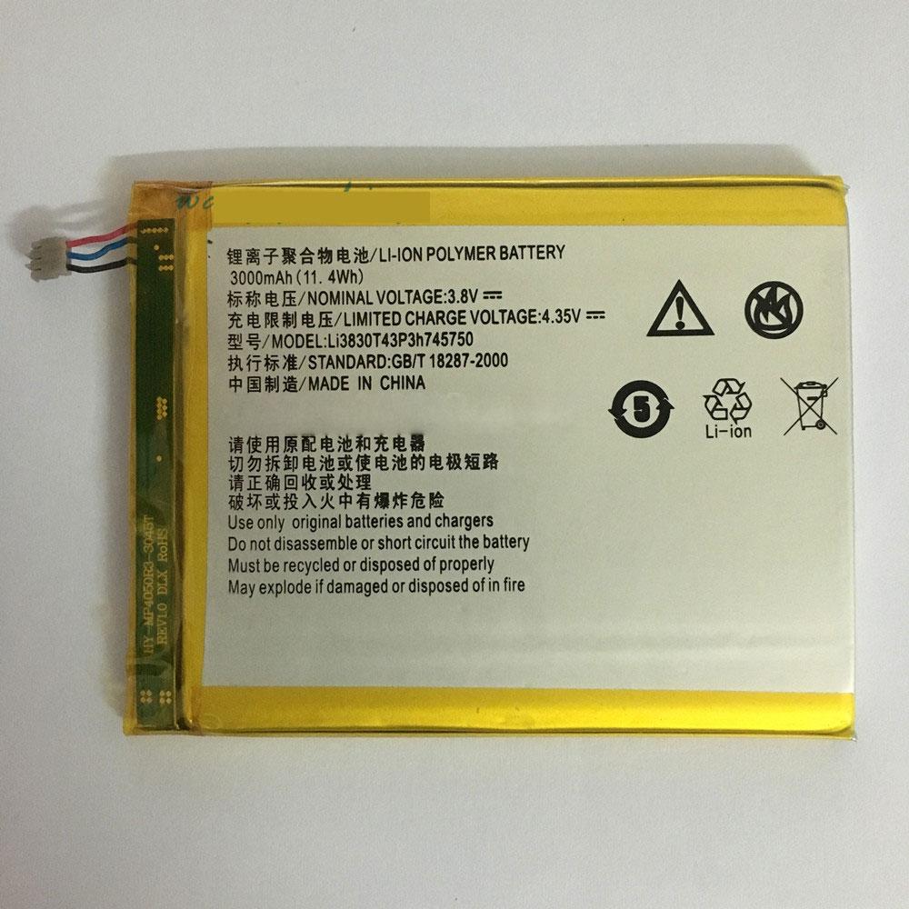 ZTE Li3830T43P3h745750 Smartphone Akku