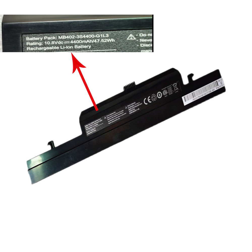 Replacement for Haier MB402-3S4400-G1L3 battery