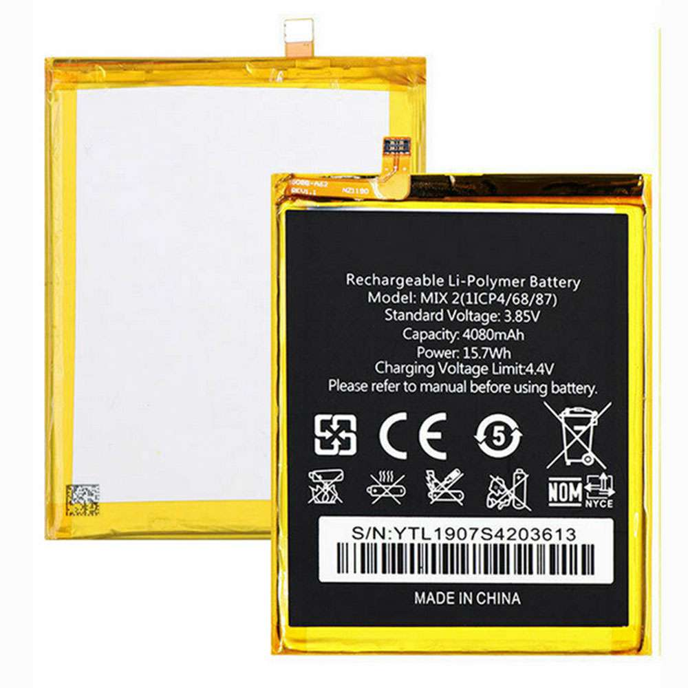 Oukitel Mix_2 replacement battery