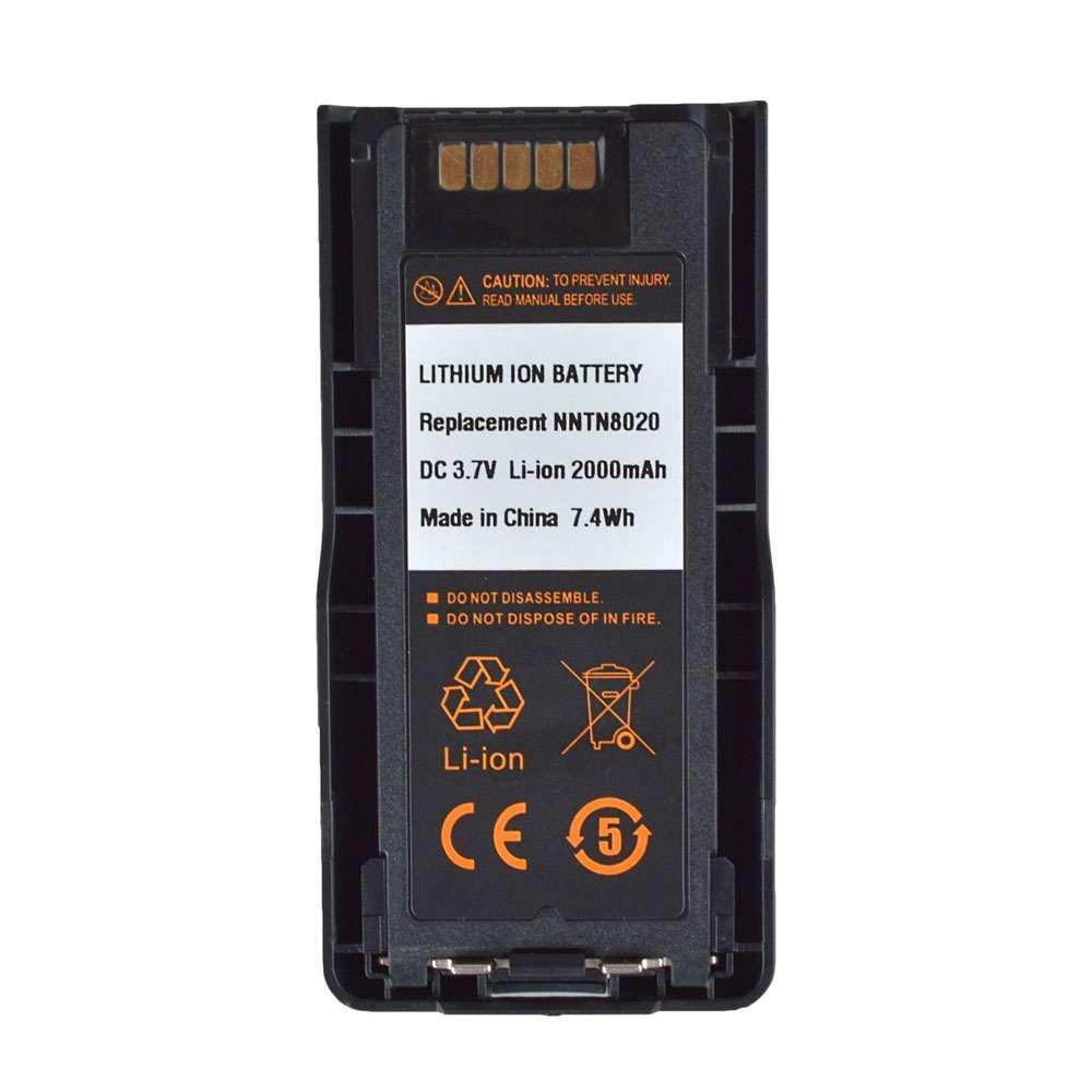 Motorola NNTN8020 replacement battery
