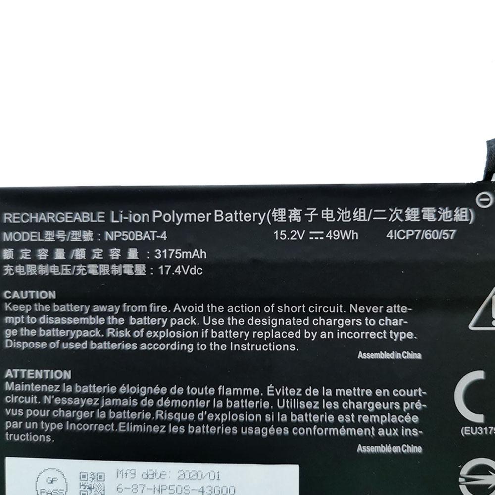 Clevo NP50BAT-4 Laptop Akku