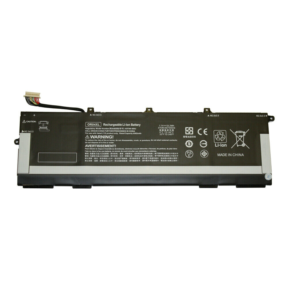 Replacement for HP OR04XL battery