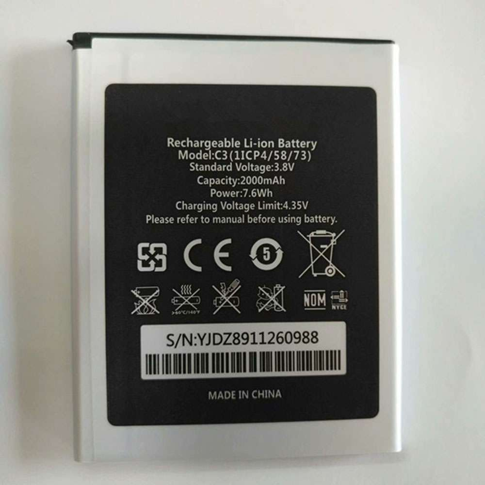 Oukitel C3 replacement battery