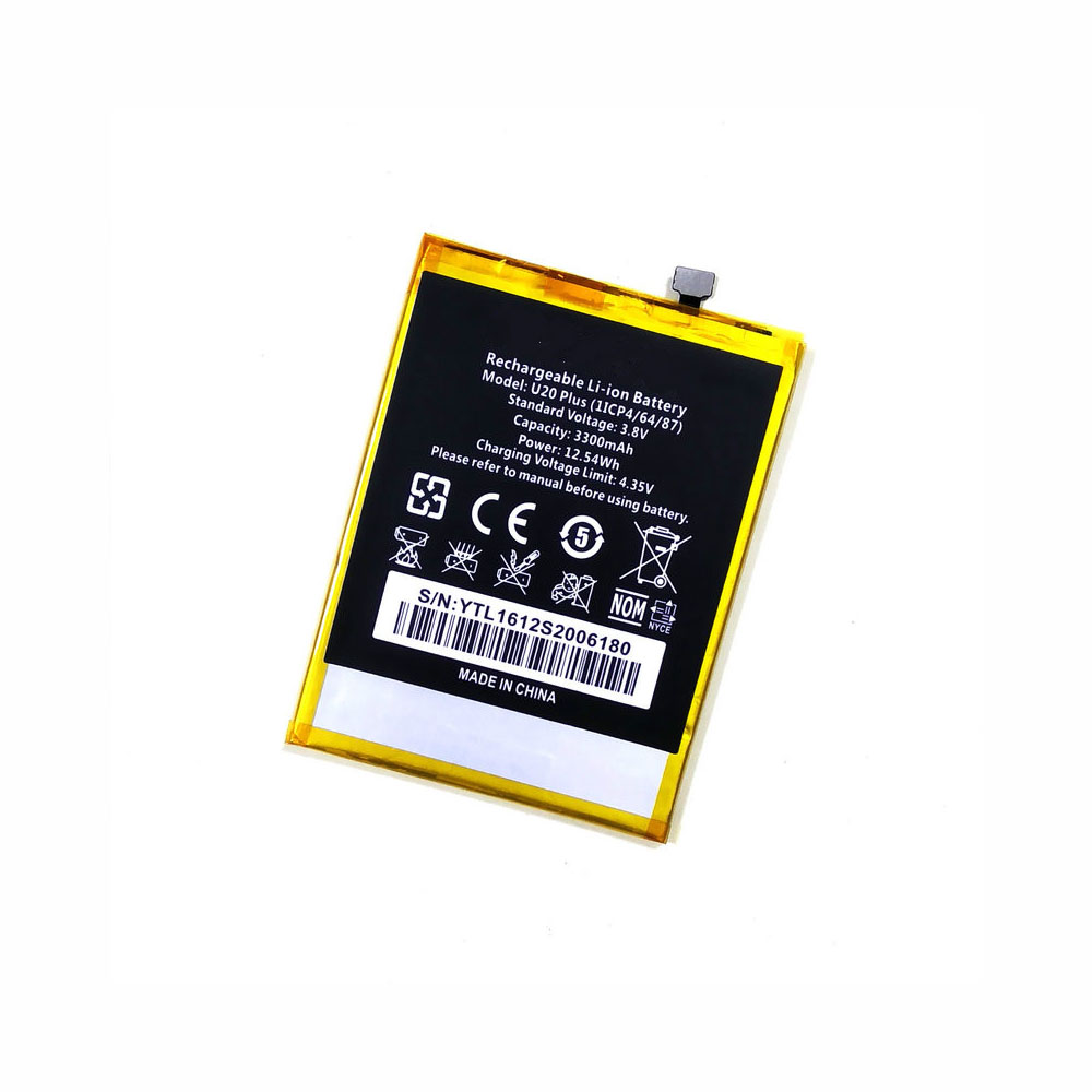 Oukitel U20_Plus replacement battery