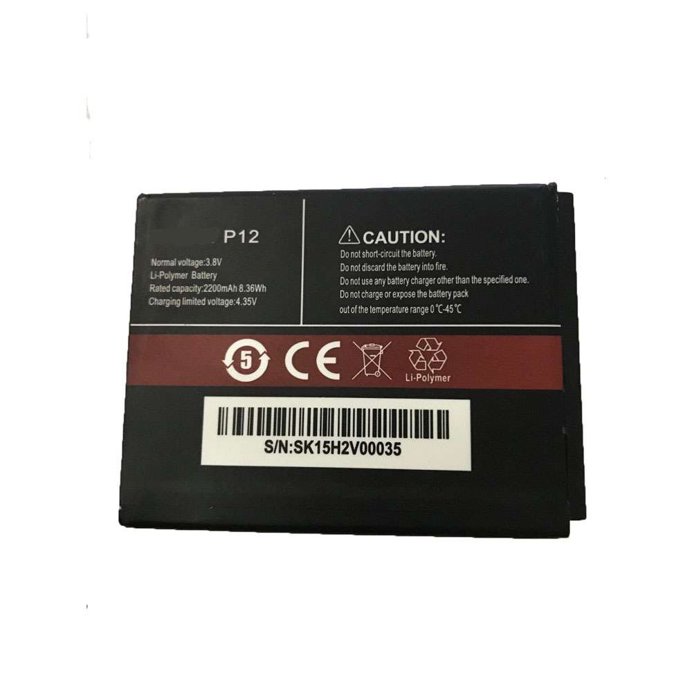 Replacement for CUBOT P12 battery