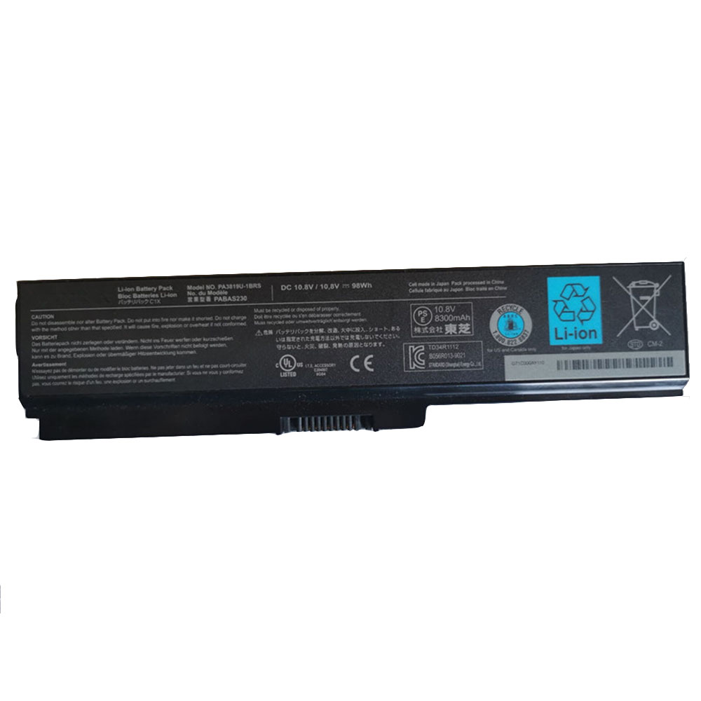 Toshiba PA3816U-1BRS replacement battery