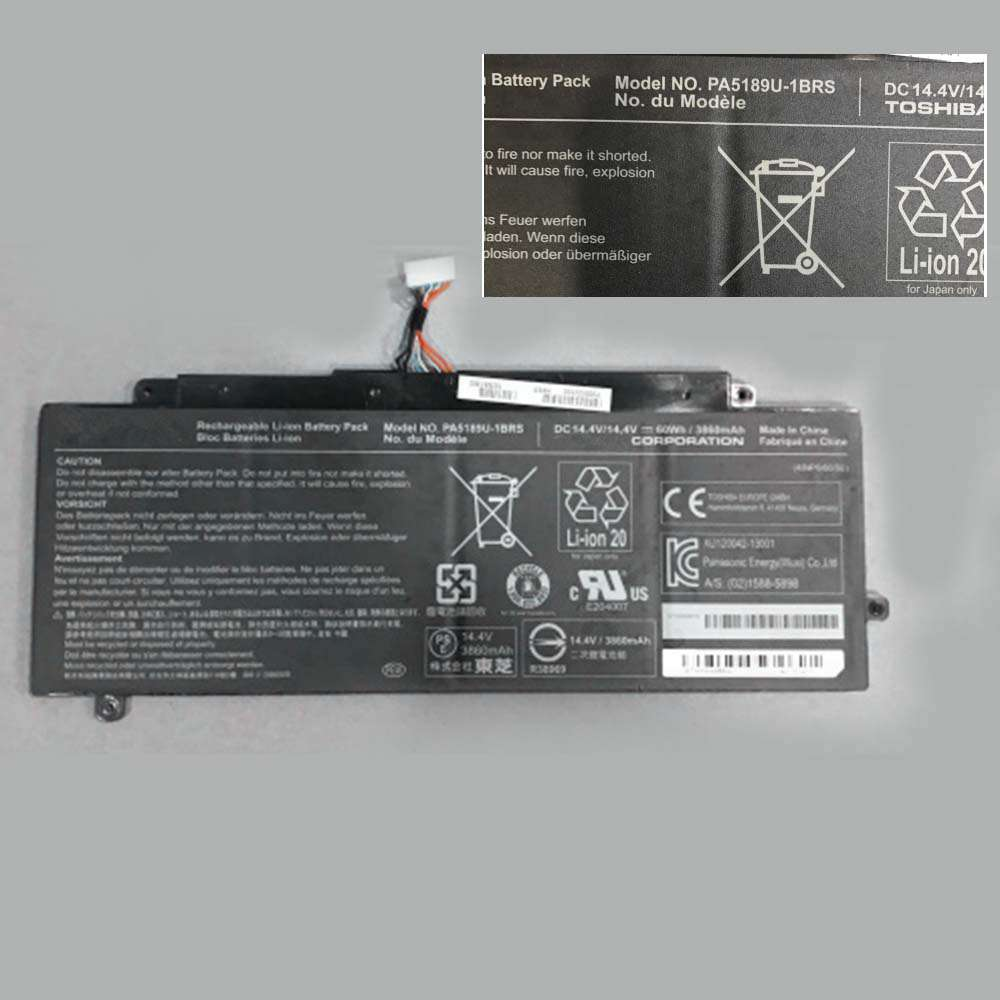 Toshiba PA5189U-1BRS replacement battery