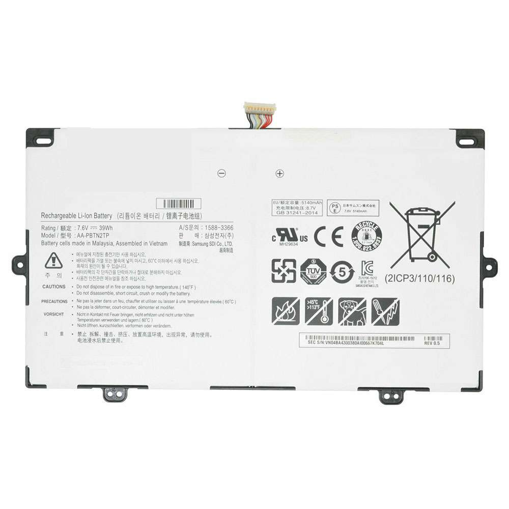 Replacement for Samsung AA-PBTN2TP battery