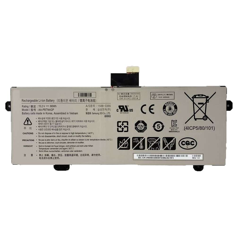 Replacement for Samsung AA-PBTN4GP battery