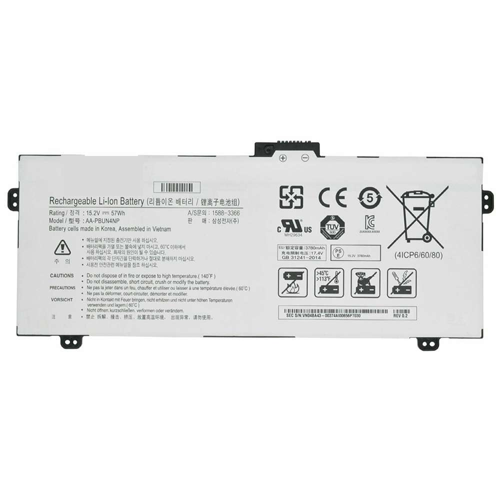Replacement for Samsung AA-PBUN4NP battery