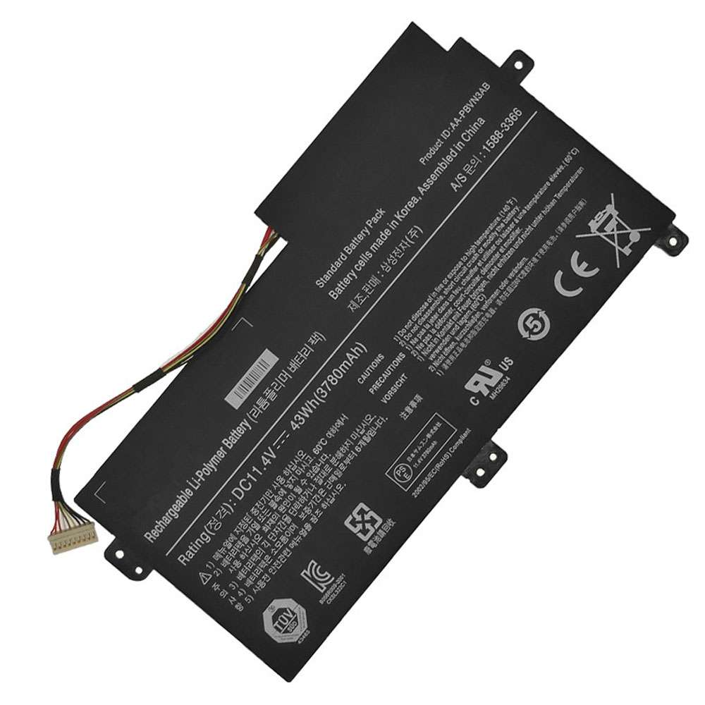 Replacement for Samsung AA-PBVN3AB battery